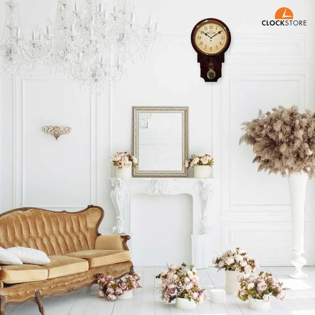 Pendulum Clock - a perfect complement to both traditional and modern interiors and décor.