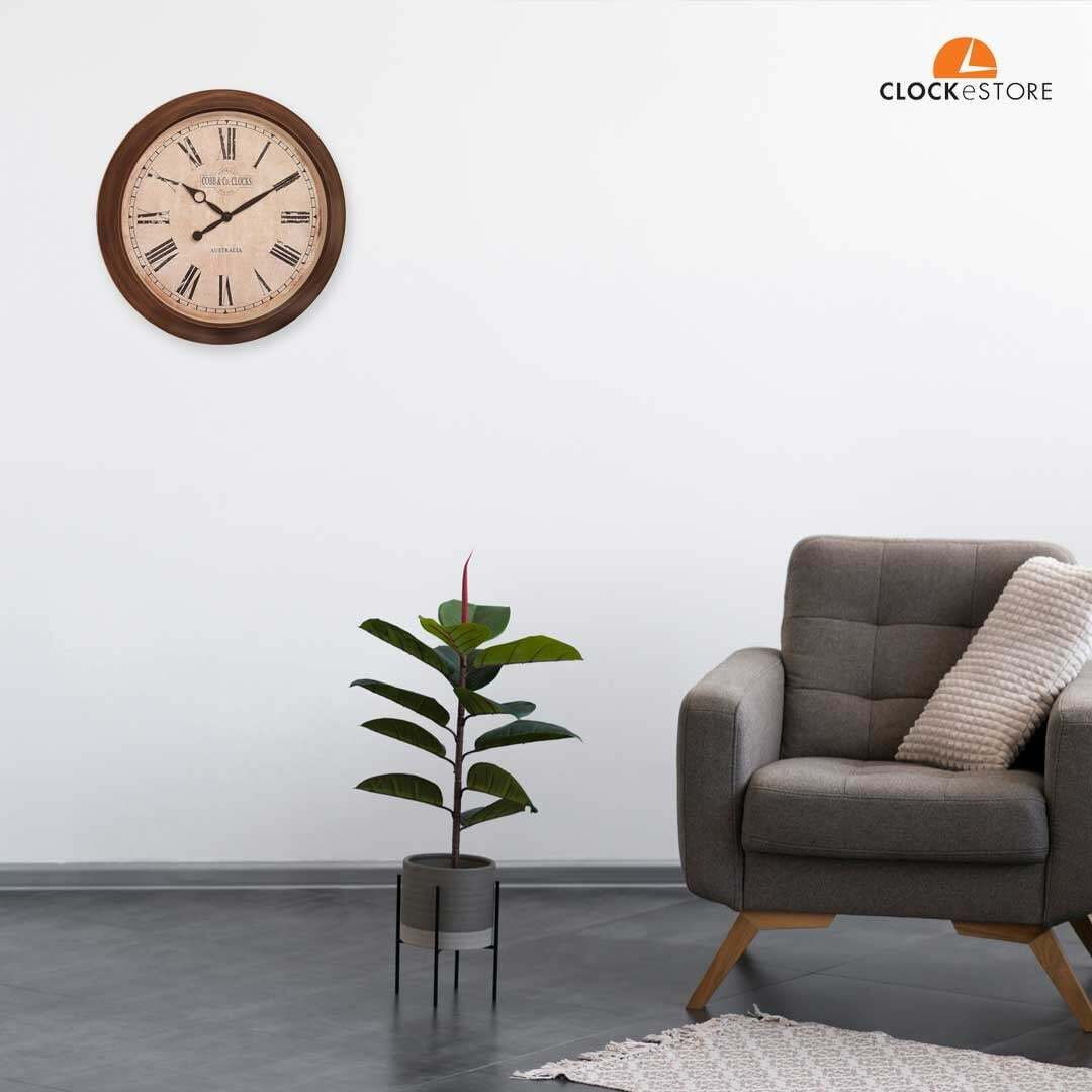 This clock is a great addition to your outdoor area, and also makes for a perfect gift.