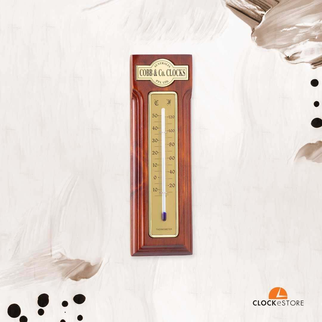 The Cobb & Co Thermometer is the perfect gift, or as an instrument your own home.